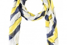 SCARF LONG BEACH Blazing Yellow